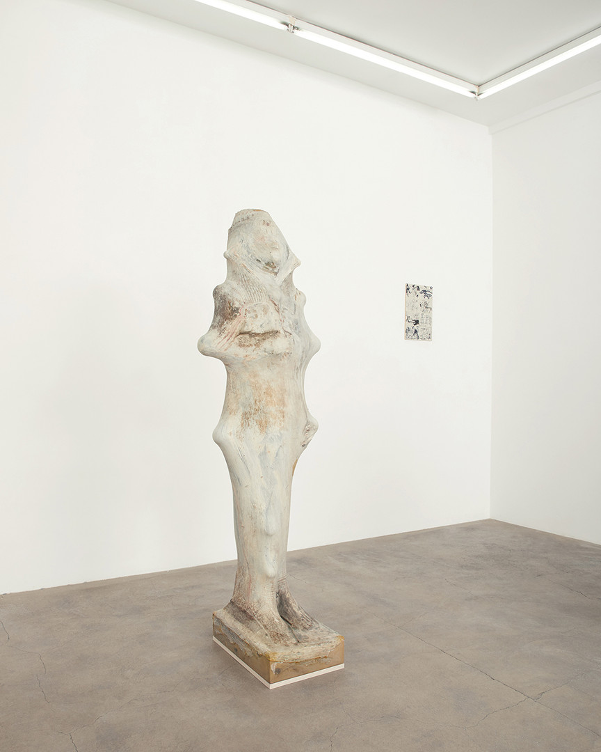 Galerie Julien Cadet Ken Sortais Rue du Canal   © Credits photo : Thomas Marroni