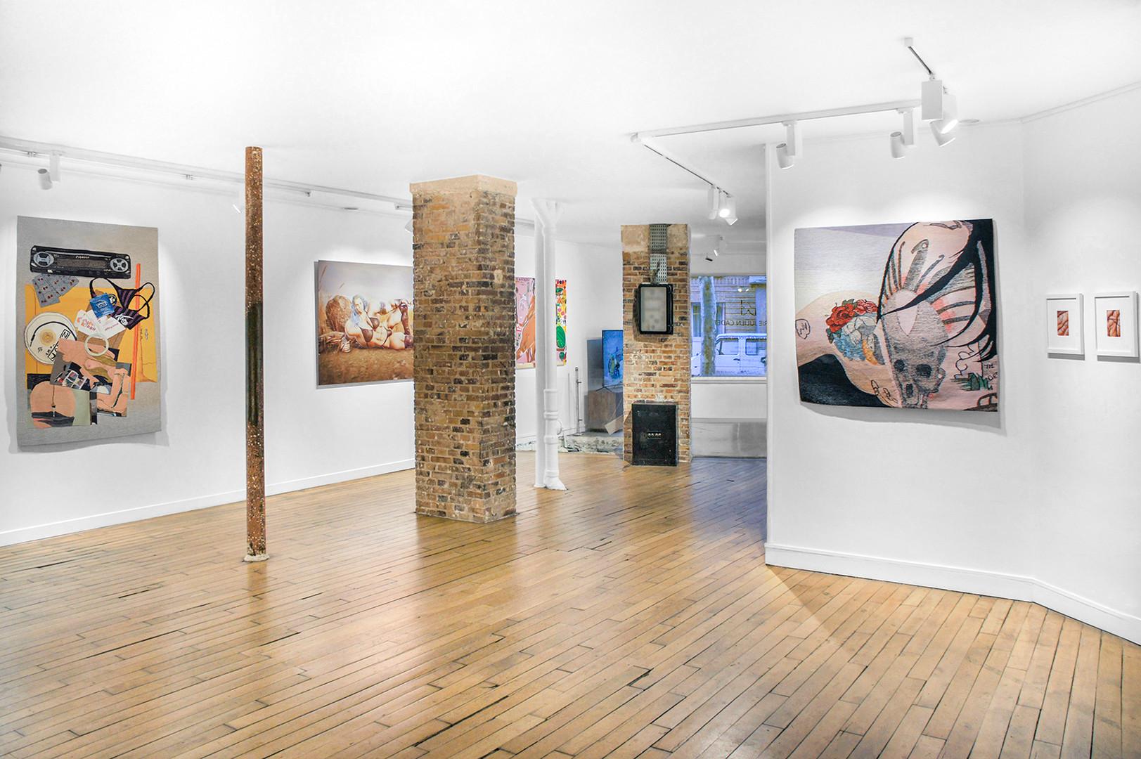 Galerie Julien Cadet Erin M. Riley, Christian Rex van Minnen, Theo Triantafyllidis Réalisme d'aujourd'hui