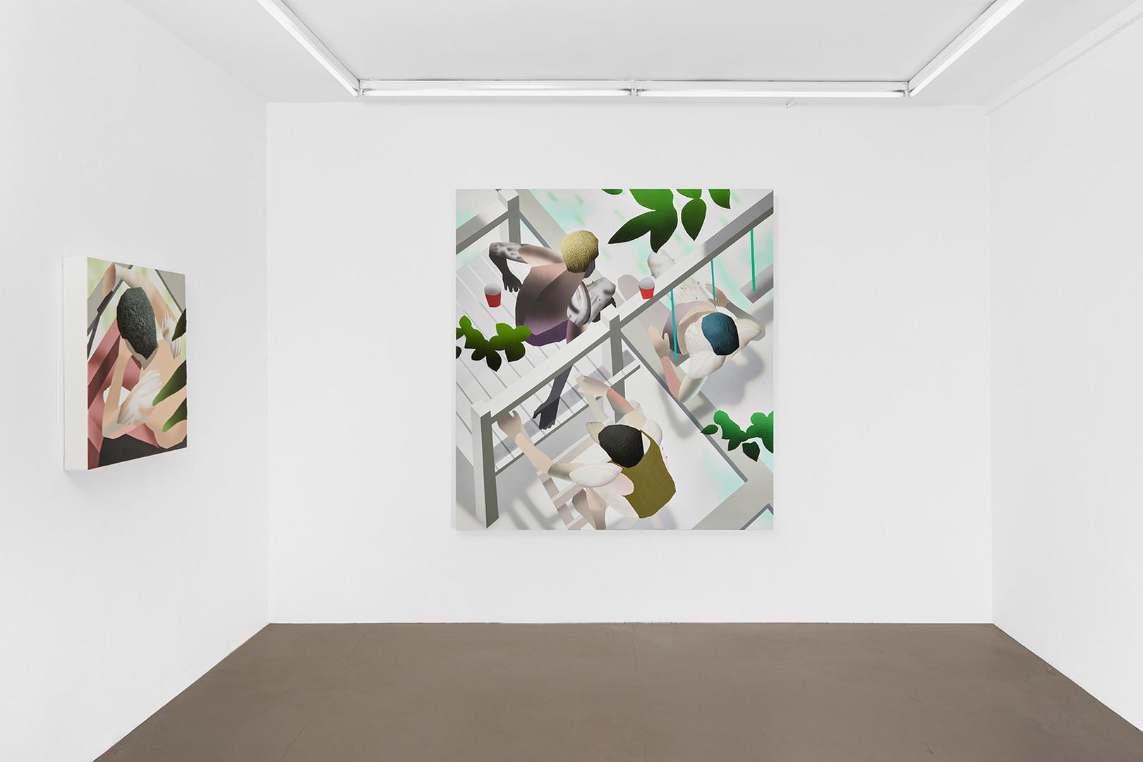Galerie Julien Cadet Brandon Lipchik Lawnscaping   ©Credits photo : Thomas Marroni