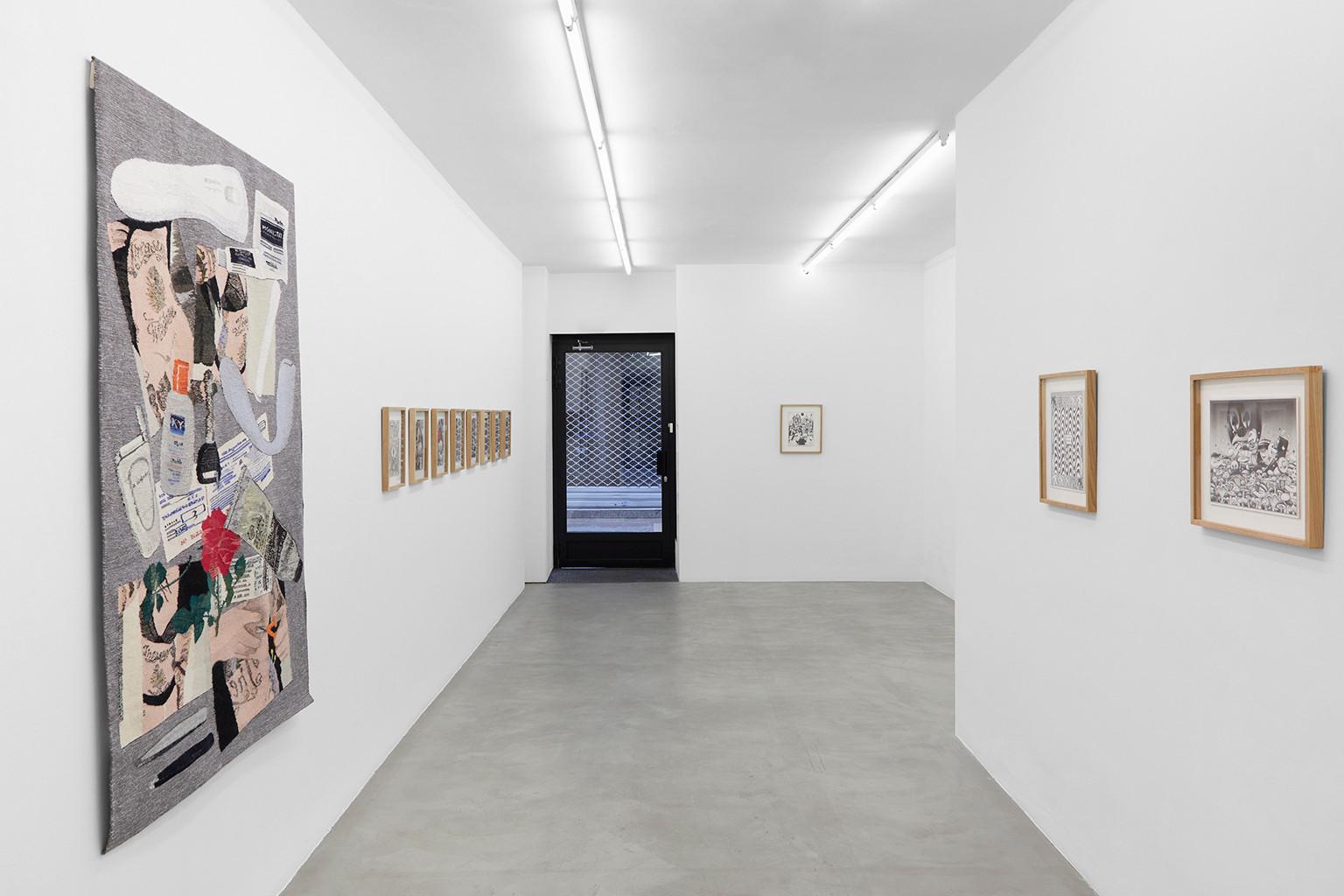 Galerie Julien Cadet Erin M. Riley, Namio Harukawa, Ryan Travis Christian BLUNT!