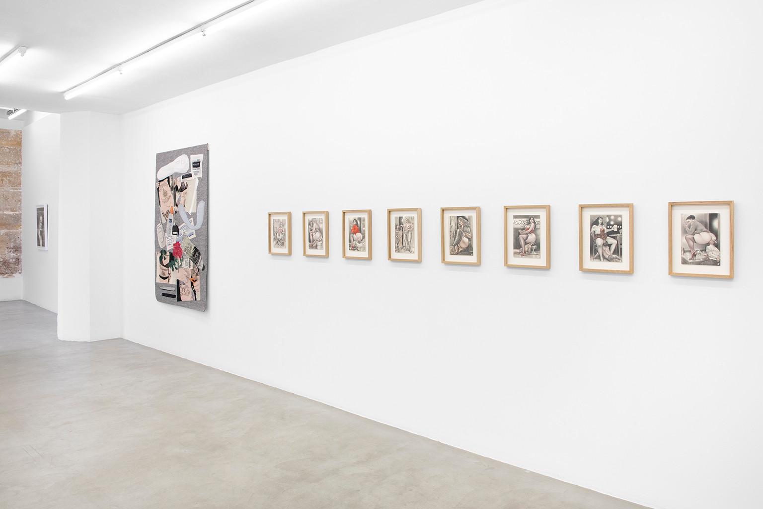 Galerie Julien Cadet Erin M. Riley, Namio Harukawa BLUNT!