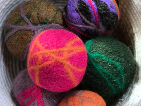 Home Hacks: DIY Dryer Balls
