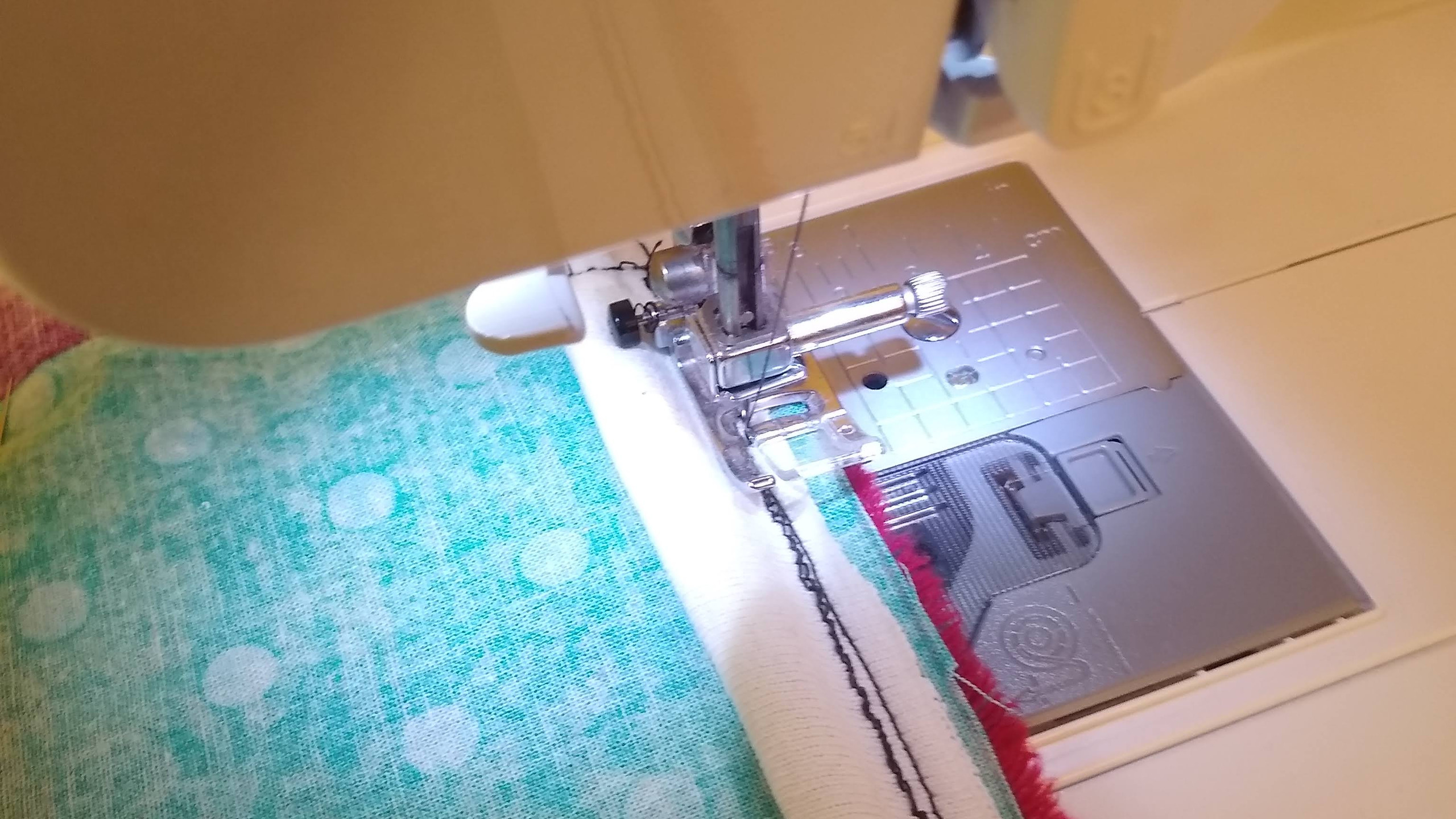 Stitching Top Seam