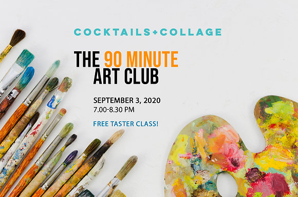 FREE Class - Paint Your Own Collage Papers!