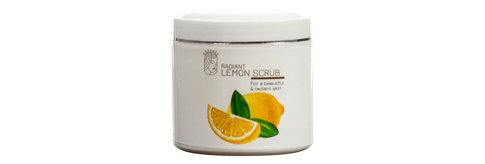 Radiant Lemon Body Scrub