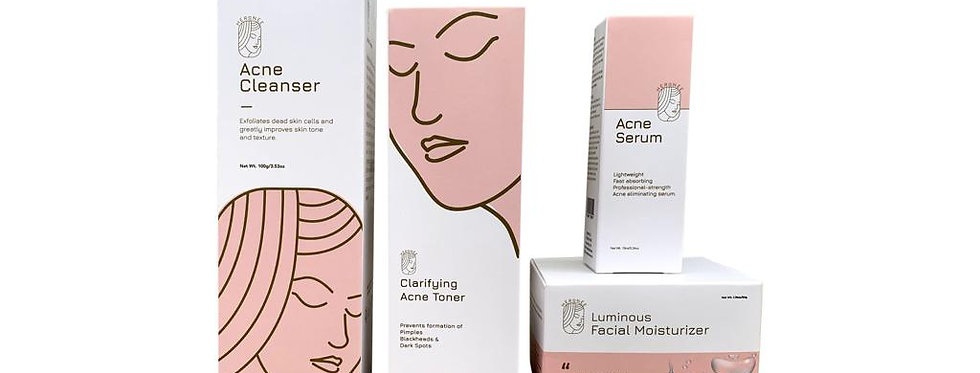 Clear Face Set + Face cream
