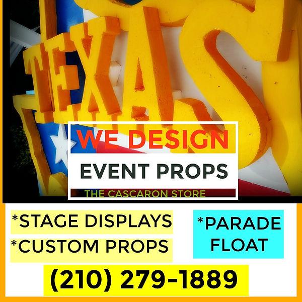 Texas Stage Display & Custom Parade Floa