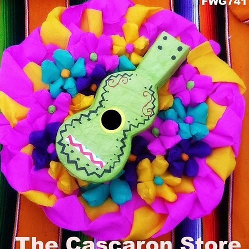 Fiesta Wreath Mexican Guitar Design