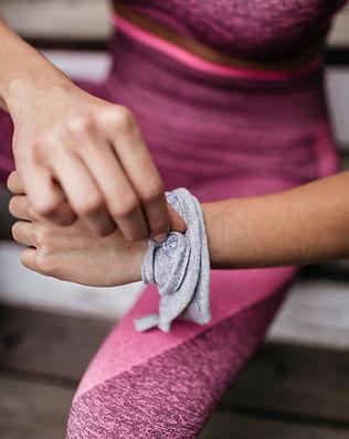 Handy Band Fold Guide Bracelet Wristband