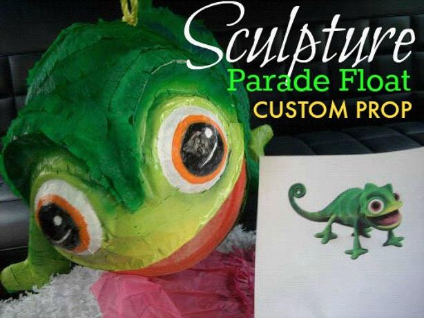 parade float custom prop sculpture lizza