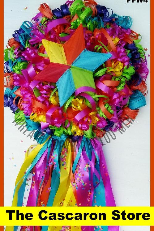 Fiesta Wreath Pinata Decoration