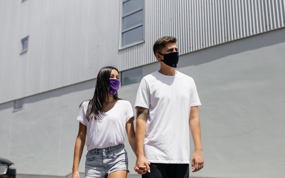 Handy Band Face Mask Wear