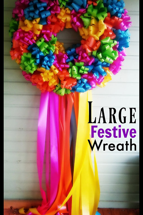 copy of Fiesta Door Wreath