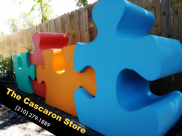puzzle displays large decorations by tcs