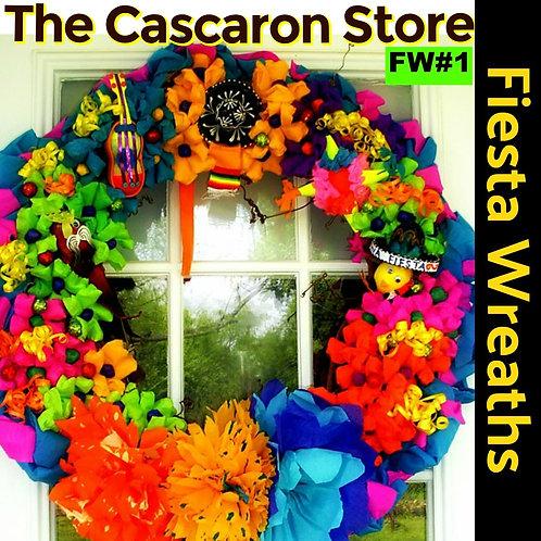 Fiesta Wreath San Antonio Style