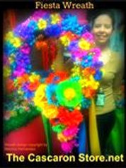 Fiesta Flowers Wreath
