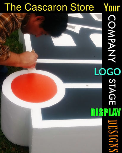Your Company Logo Stage Display Designs