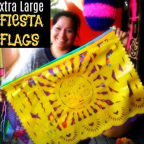 Papel Picado Fiesta Flags