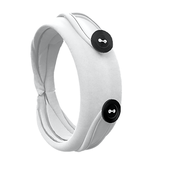 Handy Band Folded White Bracelet