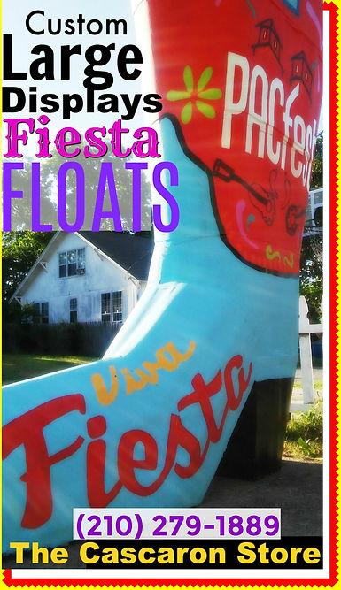 Fiesta Parade Floats Custom Designers in