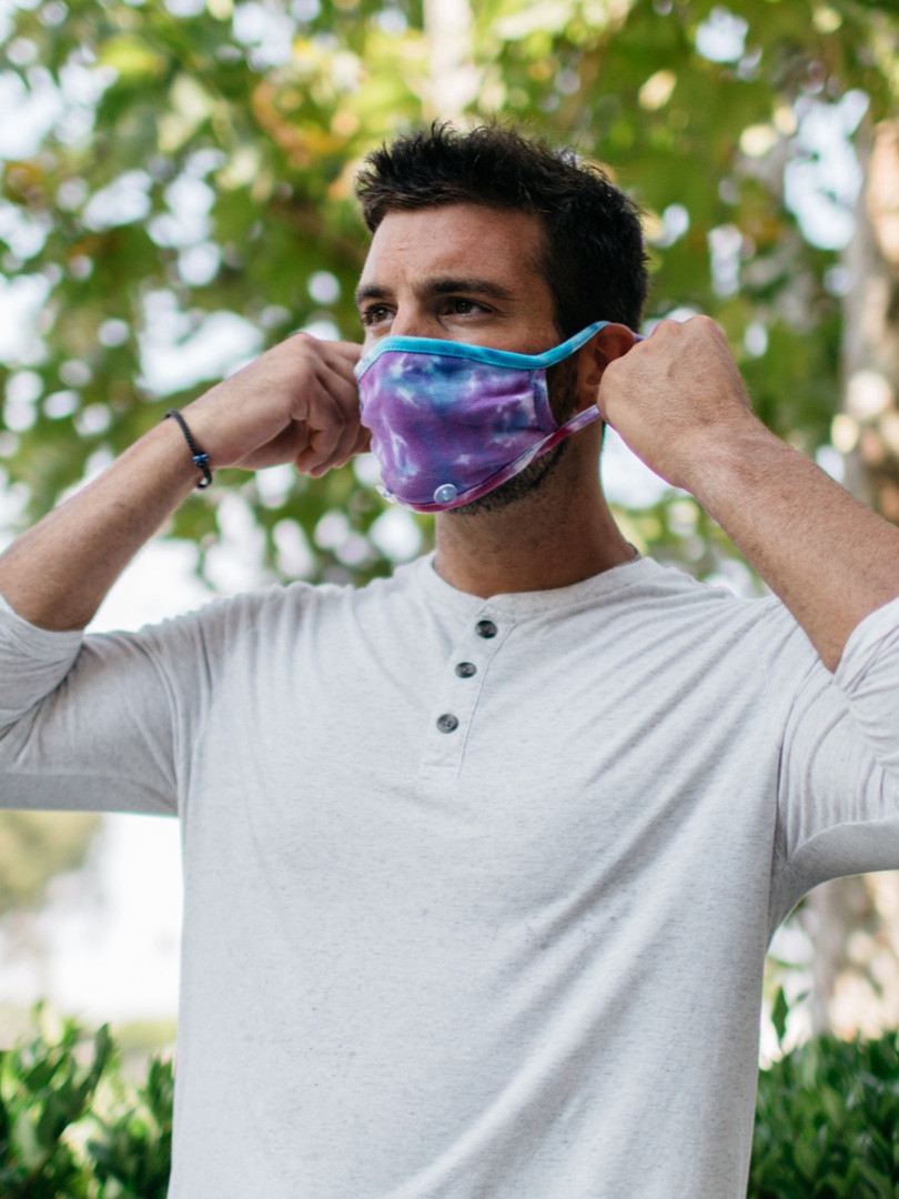 Handy Band Face Mask Tie Dye