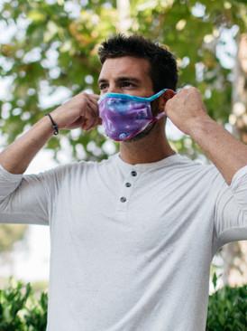 Handy Band Face Mask Tie Dye