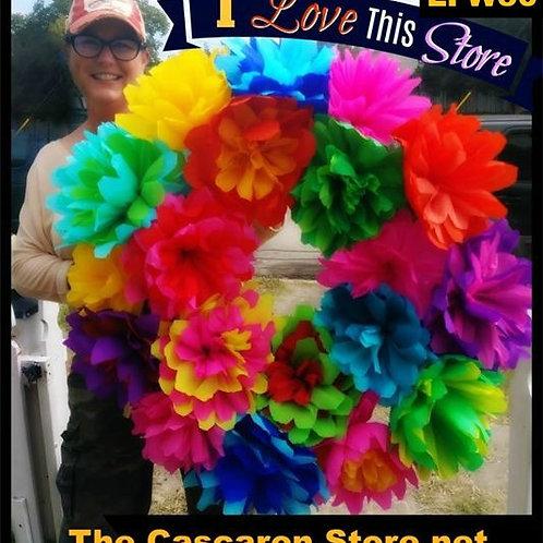 "copy of Large Fiesta Wreath 30"""