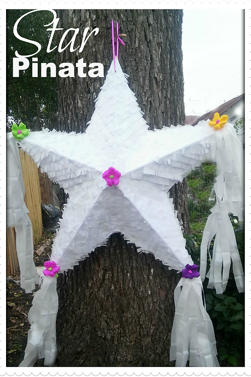 White Star Pinata