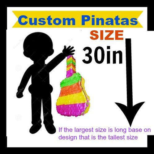 Custom Pinata 30in Tall