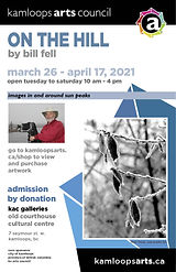 Poster-Bill Fell, On the Hill 2021 1024_