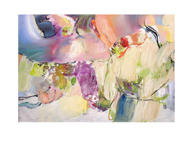 Abstract N101, 90 x 130 cm, oil on canvas