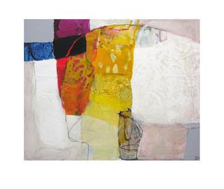 Abstract N73, 80 x 100 cm, acrylic on canvas