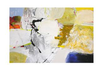 Abstract N57, 100 x 150 cm, acrylic on canvas