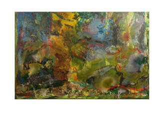Abstract N24, 130 x 200 cm, oil on canvas