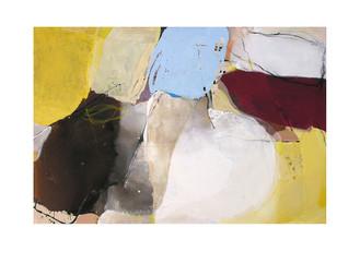 Abstract N10, 100 x 150 cm, acrylic on canvas