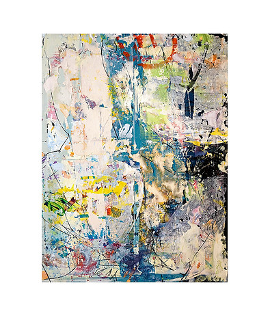 Abstract N100, 70 x 55 cm, oil on canvas