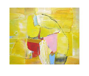 Abstract N16, 100 x 130 cm, acrylic on canvas