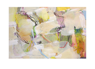 Abstract N90, 100 x 150 cm, oil on canvas