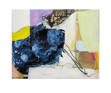 Abstract N51, 80 x 100 cm, acrylic on canvas
