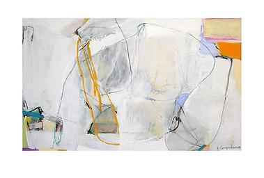 Abstract N2, 90 x 150 cm, acrylic on canvas