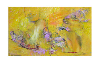 Abstract N19, 90 x 150 cm, oil on canvas