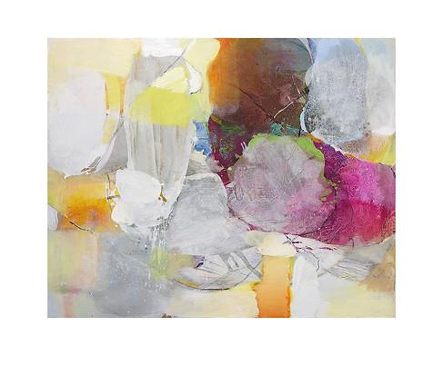 Abstract N86, 80 x 100 cm, acrylic on canvas
