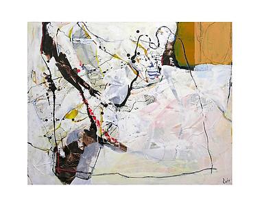 Abstract N15, 80 x 100 cm, acrylic on canvas