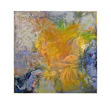 Abstract N11, 100 x 100 cm, oil on canvas