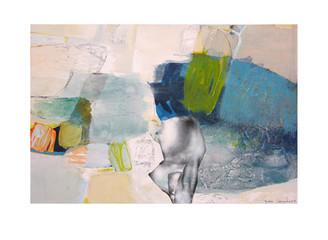 Abstract N58, 100 x 150 cm, acrylic on canvas