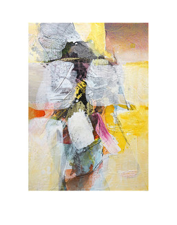 Abstract N76, 70 x 50 cm, acrylic on canvas