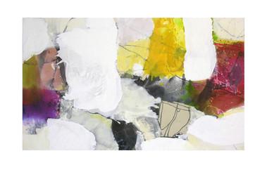 Abstract N94, 90 x 150 cm, acrylic on canvas
