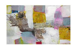 Abstract N60, 90 x 150 cm, acrylic on canvas