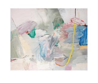 Abstract N88, 100 x 120 cm, acrylic on canvas