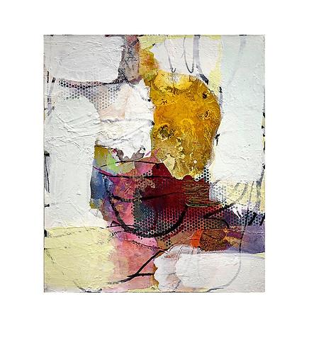Abstract N56, 70 x 60 cm, acrylic on canvas
